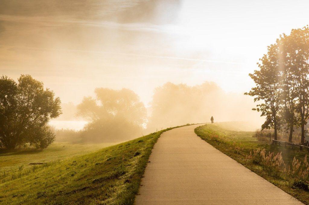 chemin vers le bonheur
